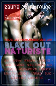 BLACK OUT NATURISTE